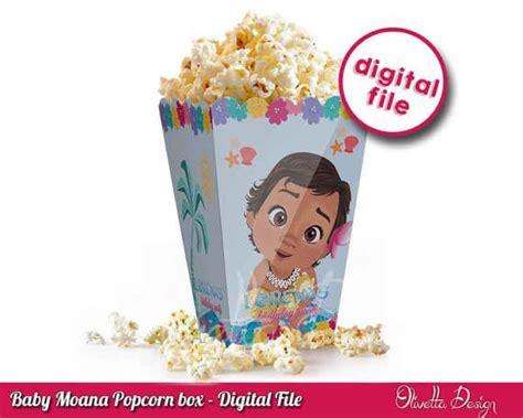 Popcorn Box Moana 143 best images about moana birthday ideas on