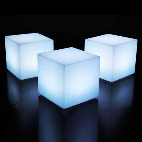 led cube seat lighting led cube seat lighting led plastic color changing chair
