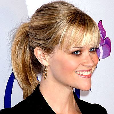 10 easy hairstyles for bangs to get them out of your face top 25 easy and beautiful ponytail hairstyles