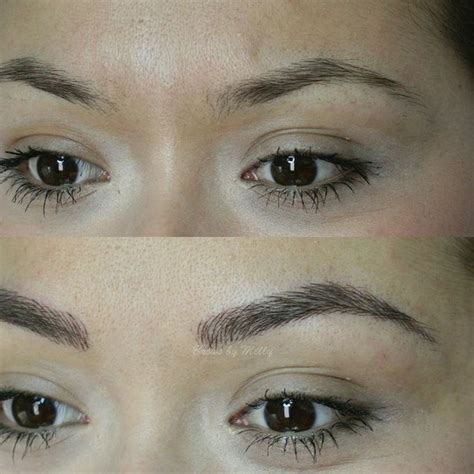 embroidered tattoo eyebrows 40 best eyebrow tattoo images on pinterest eyebrow