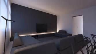 grey accent wall interior design ideas
