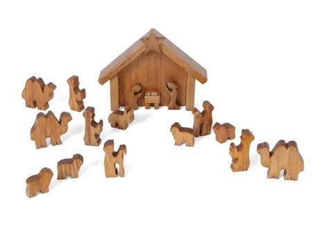 nativity sets in lancaster pa handmade nativity wooden manger with holy family animals creche usa craft ideas