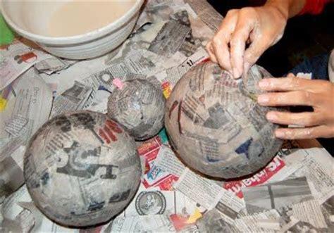 How To Make A Paper Mache Planet - papier mache planets