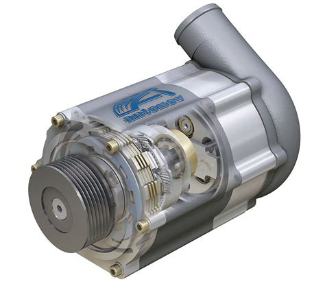 Antonov Dual Speed Supercharger