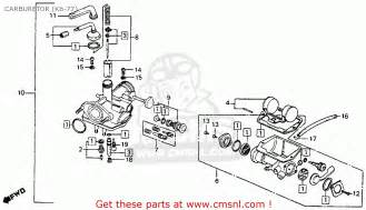 Honda Ct90 Carburetor Diagram Vintage Honda Trail Bikes Carbs