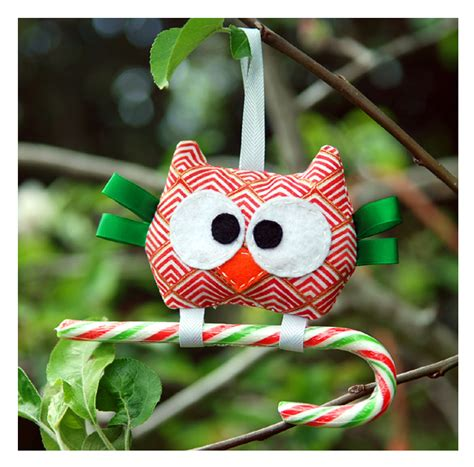 Handmade Owl Decorations - handmade owl decoration felt