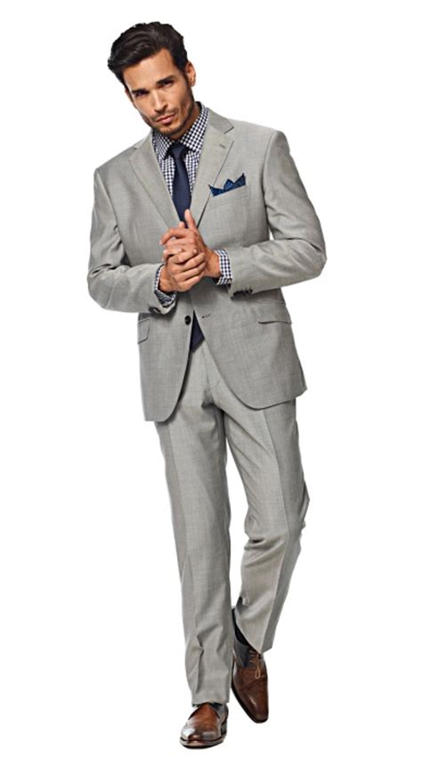 light grey suit brown shoes solid light gray suit man you look good pinterest