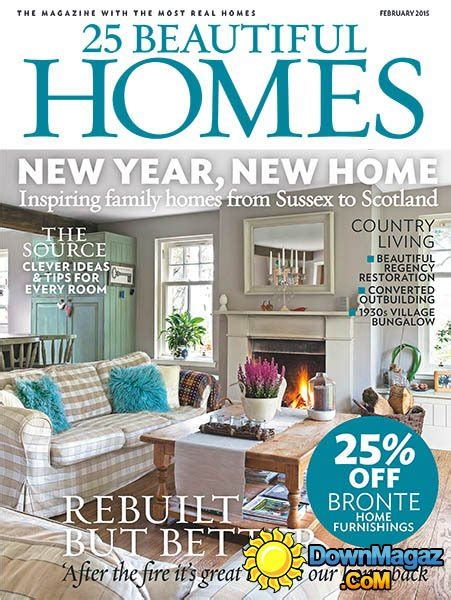 beautiful home design magazines 25 beautiful homes february 2015 187 download pdf