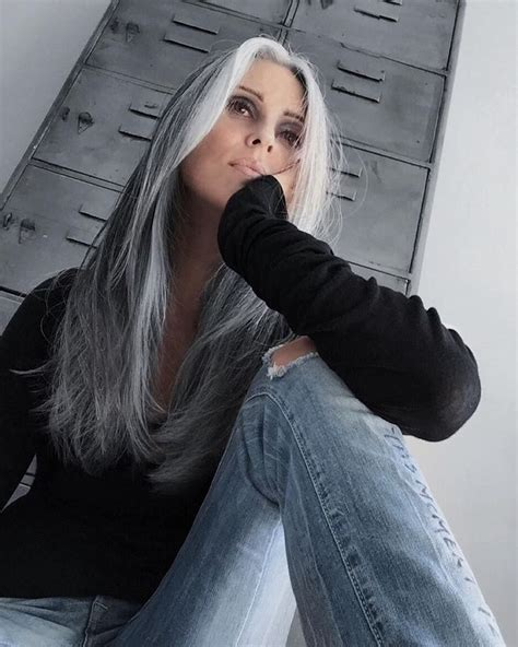 young black women with gray hair styles best 20 gray hair highlights ideas on pinterest