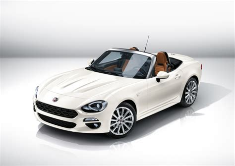 new fiat 124 spider unveiled at the 2015 los angeles auto show