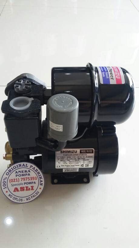 Pompa Shimizu Sp 135 E jual pompa shimizu ps 135 e automatic aneka pompa
