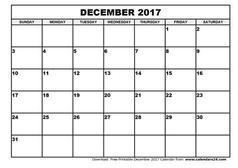 Calendar Printable December 2017 January 2018 December 2017 Calendar January 2017 Calendar
