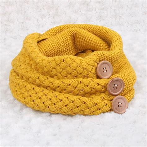 bufanda cuello en crochet o ganchillo de lana o estambre bufandas de ganchillo con botones
