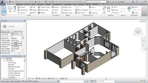 revit tutorial residential jensen s revit tutorial residential house 05 windows