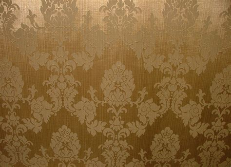 Gold Upholstery Fabric by Antique Gold Madagascar Designer Curtain Brocade Damask