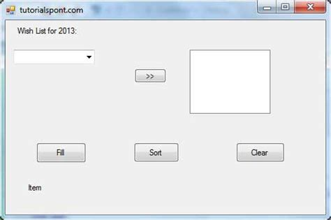 tutorialspoint vb net pdf vb net combobox control