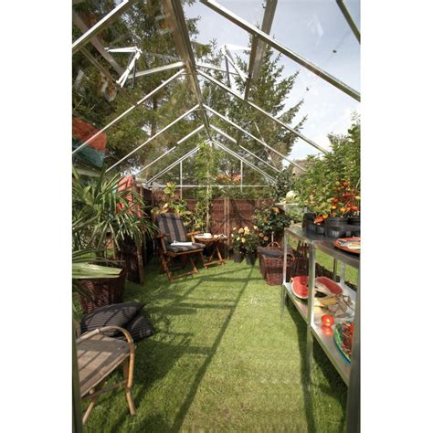 serre de jardin en promo promo serre de jardin 9 9m 178 en verre junior embase juliana