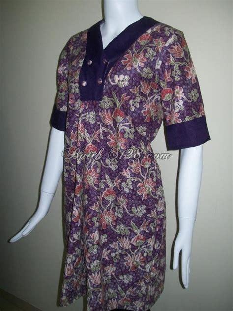 Baju Asli baju batik murah warna ungu batik asli dari bls032 toko batik 2018