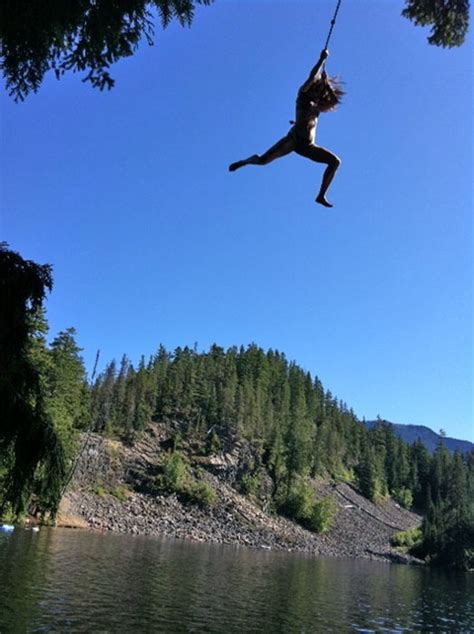 rope swing into lake rope swing into a lake before i blink and miss it