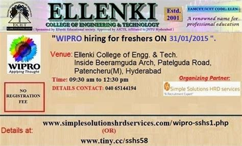 Wipro Mba Salary by Wipro Cus Drive For Freshers On 31st Jan 2015