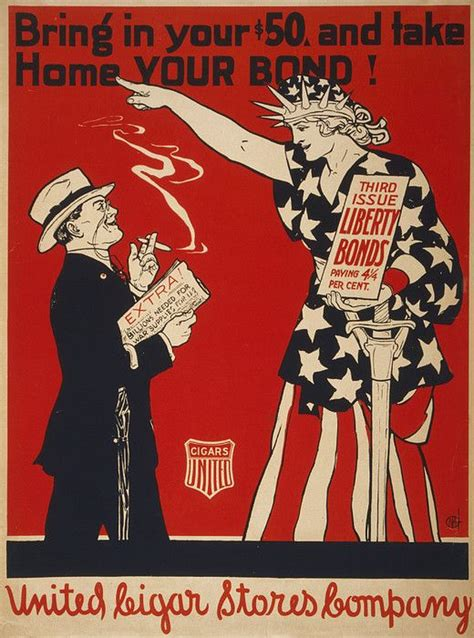 take a compliment 50 posters to pin and treasure books world war i poster showing liberty print by everett