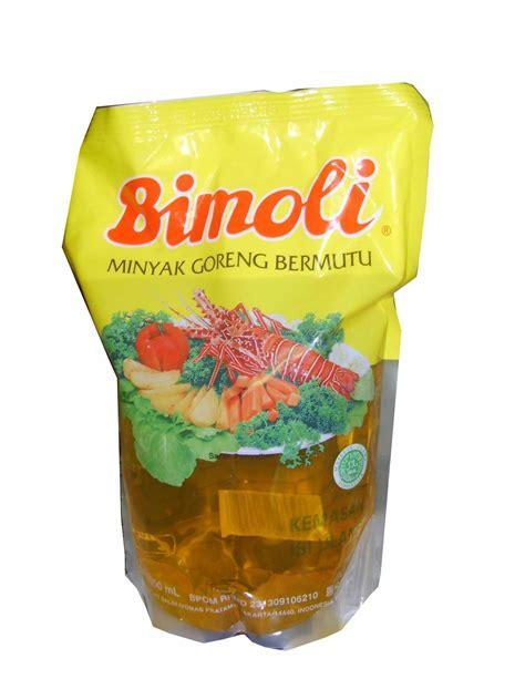 Minyak Wijen 1 Liter by Jual Bimoli Minyak Goreng 1 Liter Pouch Harga Murah Kota