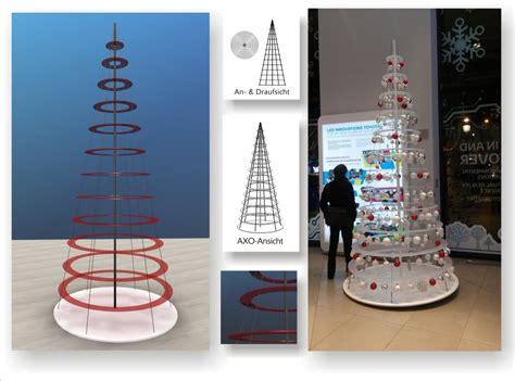 design weihnachtsbaum aus plexiglas lust auf hingucker