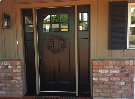 entry door ideas white fiberglass entry doors with sidelights popular