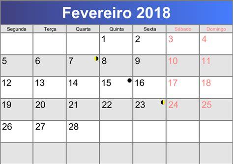 Calendã Fevereiro 2018 Calend 225 Fevereiro 2018 Printable Pdf Abc Calendario Pt