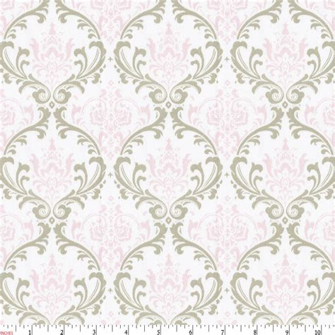bedding fabric pink and taupe damask fabric by the yard pink fabric