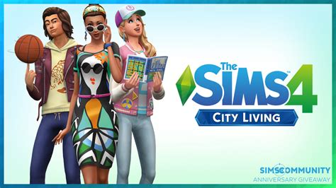 Sims 4 City Living Giveaway - giveaway win 1 out of 4 copies of the sims 4 city living sims community