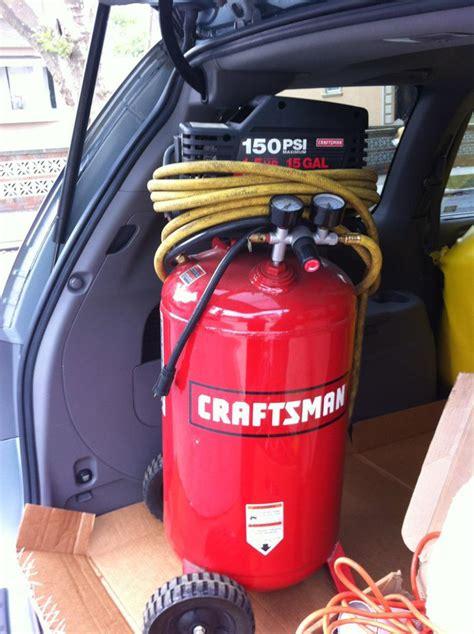 craftsman  gal upright air compressor rc tech forums