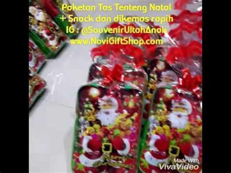 Snack Natal novigiftshop jual souvenir ulang tahun anak murah