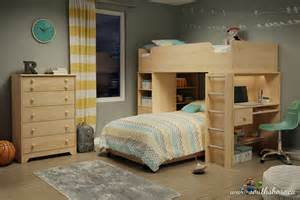 Bunk Bed And Desk Combo Cool Bunk Bed Desk Combo Ideas For Sweet Bedroom