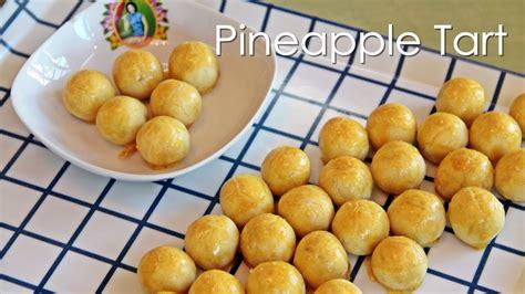 new year pineapple cookies recipe pineapple tart new year recipe by zataya
