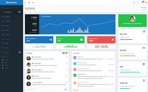 layout bootstrap cms 40 best bootstrap admin templates 30 designers
