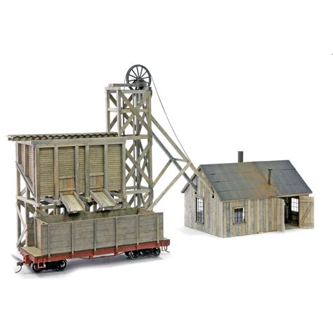 creek mining model kit ho scale