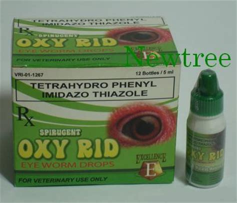 Oxy Rid oxy rid eye worm drops 5 ml 187 newtree your one stop livestock needs philippines