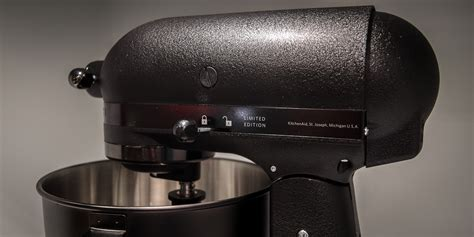 all black kitchenaid mixer kitchenaid s stealthiest stand mixer wears all black reviewed com ovens