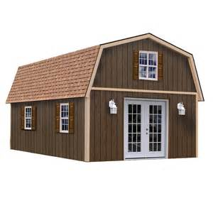 Barn Cupola Lowes Shop Best Barns Richmond Without Floor Gambrel Engineered