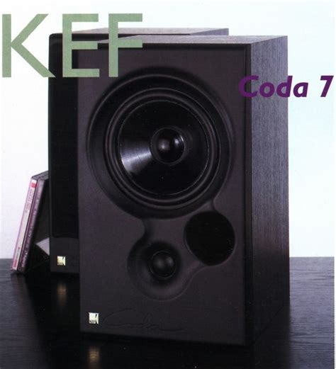 kef coda 7 bookshelf speakers review and test
