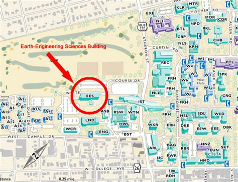 Penn State University Campus Map by Campus Map Penn State