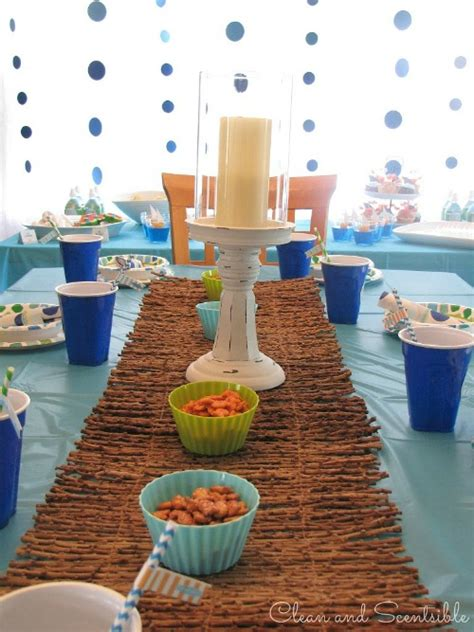 Sea Decoration Ideas Under The Sea Party Clean And Scentsible