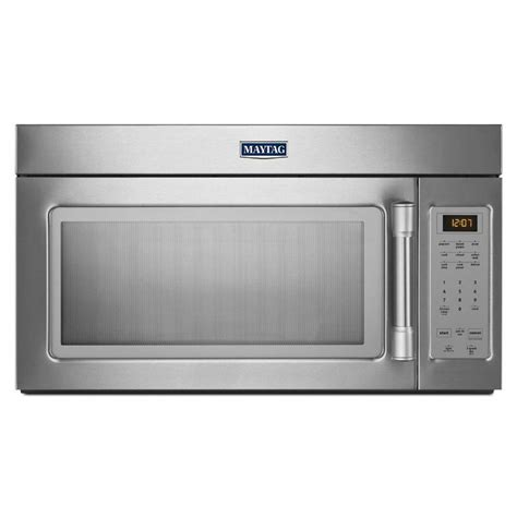 maytag microwave ovens 1 7 cu ft the range