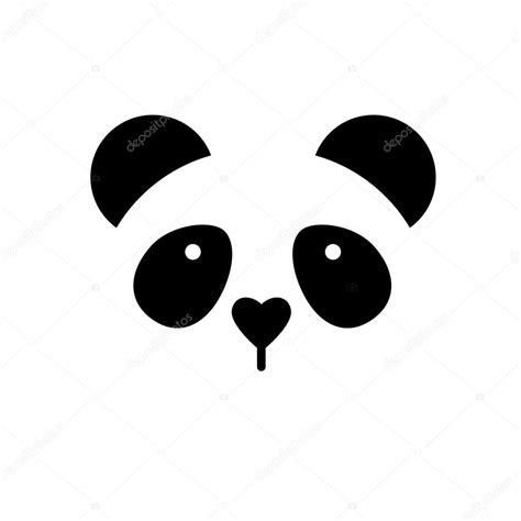 panda template panda template stock vector 169 antoshkaforever