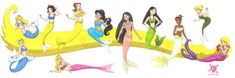 Disney Princess Images Mermaid Princesses Hd Wallpaper Pictures Of Disney Princesses As Mermaids