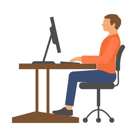 Computer Desk Posture Computer Desk Posture Tutorial Dr Chris Homan
