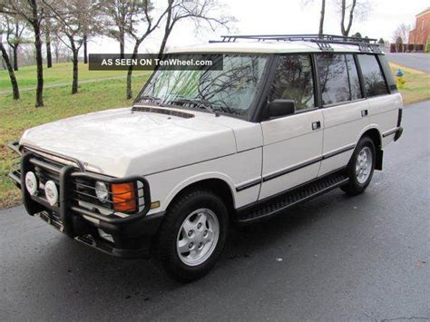 land rover county lwb 1995 range rover county lwb