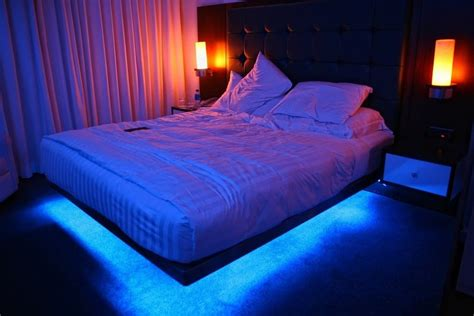 chagne color bedroom led color changing bedroom mood ambiance lighting ready