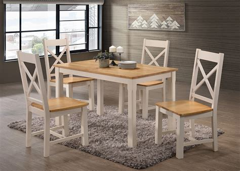 4 Set Dining Table Rochester 4 Dining Set 4 Chairs Dining Tables